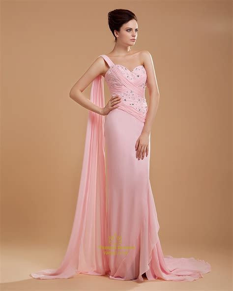 light pink bridesmaid dresses one shoulder light pink bridesmaid dresses chiffon