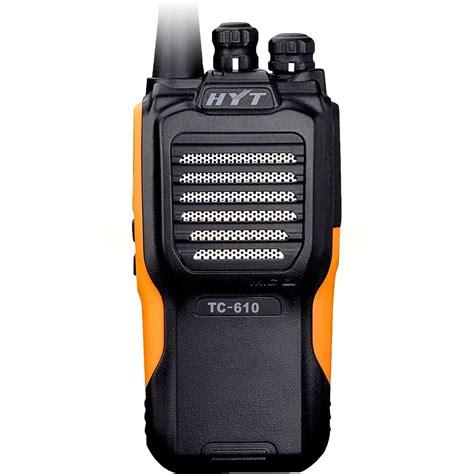 hyt tc  uhf yellow hytera radioparts
