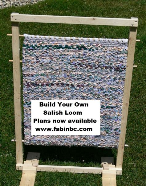build your own rug build your own salish loom for rug detailed plans available for instant from