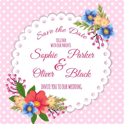 Wedding Background Freepik by Floral Wedding Background Vector Free