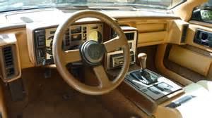 Pontiac Fiero Interior 1984 Pontiac Fiero Pictures Cargurus