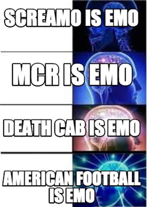 Emo Meme Generator - meme creator screamo is emo american football is emo mcr