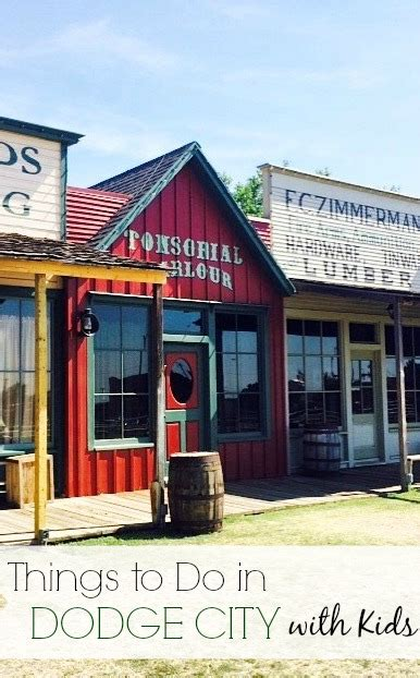 10 things to do with in dodge city ks kidventurous