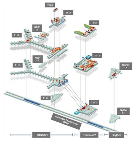 hong kong airport floor plan 香港国际机场 德高贝登