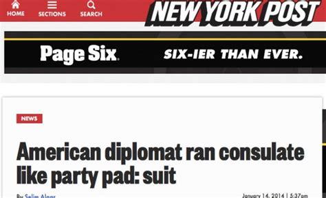 consolato americano a roma scandalo al consolato usa quot usato come garconniere