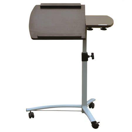 laptop desk walmart homegear portable rolling laptop desk tale stand on