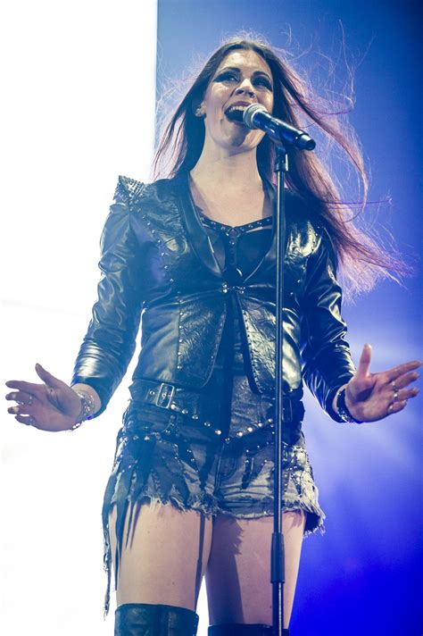 floor jansen nightwish performs at the sse arena