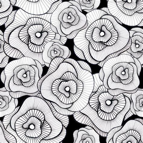flower doodle pattern 753 best doodle zentangle flowers images on
