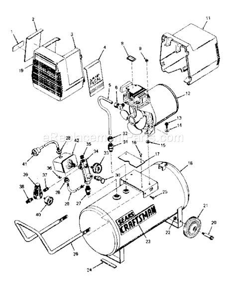 craftsman 919153040 parts list and diagram ereplacementparts