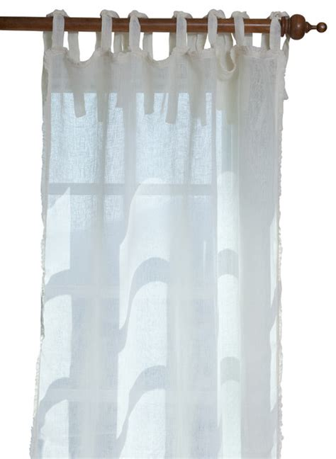 white linen curtains 96 ruffle cream linen curtain panel 42 quot x 96 quot farmhouse