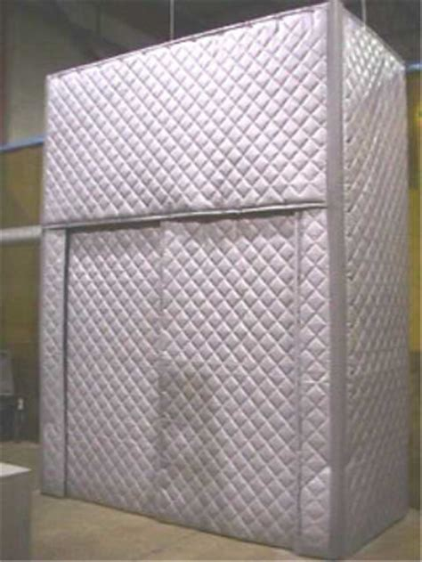acoustiguard quilted barrier absorber curtain panels on