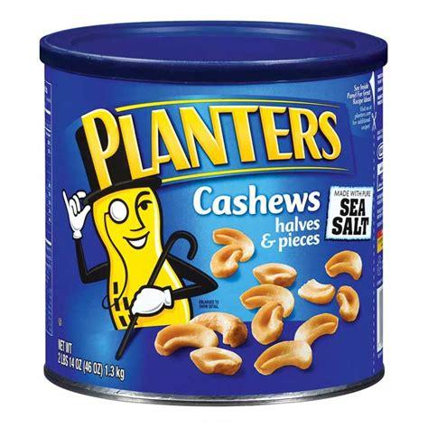 Planters Snacks by Planters Cashews Large Can Prestige Limousine Service