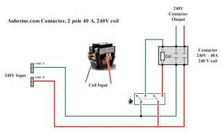contactor wiring diagrams lighting
