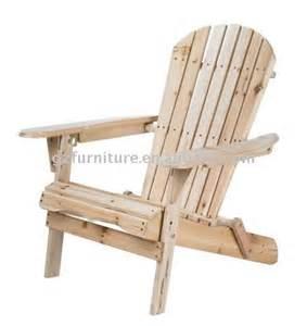 meubles de jardin en bois de la chaise chaise pliante id