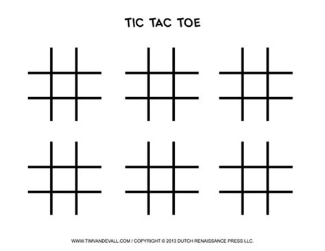football x and o template free printable tic tac toe templates blank pdf boards