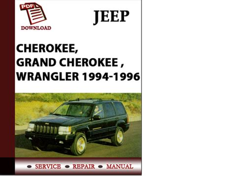 1995 jeep owners manual pdf submited images