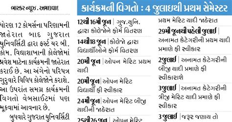 Bcom Mba Integrated Course by Ojas Guj Nic In Application System Gujarat