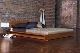 Minimalist Diy Platform Bed Design Rustic Wood Minimalist Bed Frame King With