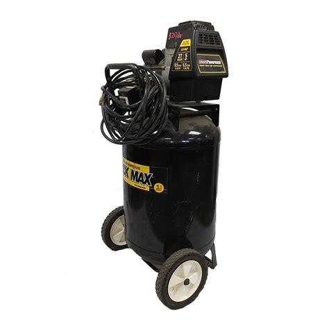 coleman powermate  gallon air compressor resource tool library