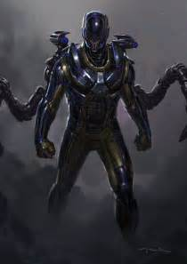 ant man concept art featuring yellowjacket