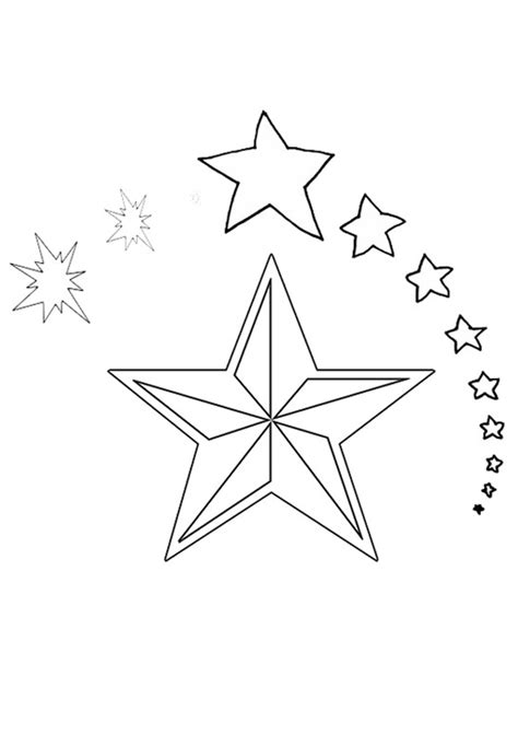coloring pages of the christmas star free online christmas star colouring page