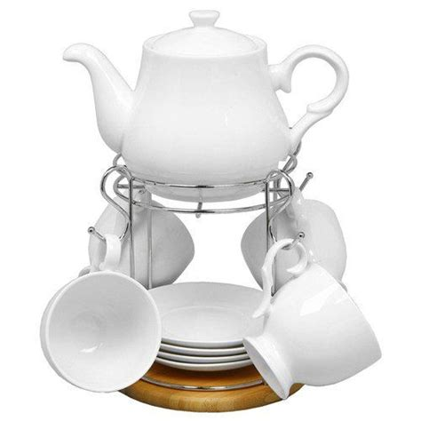 white bamboo teapot tea cups and saucers set shudehill