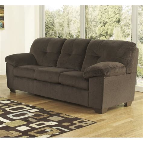 microsuede sleeper sofa ashley inger microsuede full size sleeper sofa in
