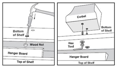 Corbel Installation Briarcliff Mantel Shelf Installation Mantelsdirect