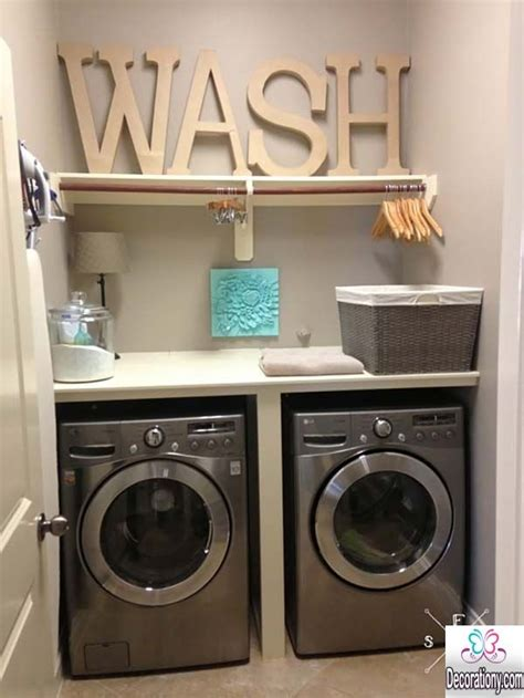 decorating laundry room ultra modern laundry room ideas for a small space