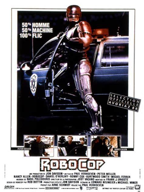 film de robot qui font de la boxe robocop film 1987 allocin 233