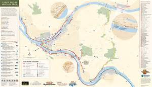 three map three rivers heritage trail pittsburgh pa