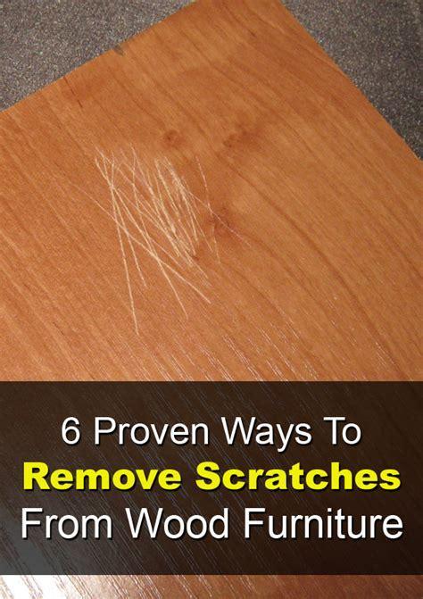 how to remove wax from wood table 6 proven ways to remove scratches from wood furniture