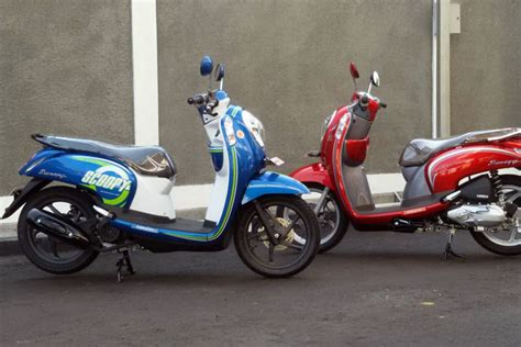 Mantel Motor Honda New Scoopy 1 new honda scoopy esp dengan warna baru blue dan vogue