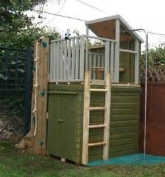 Playground Storage Sheds by Sheds Storage Sheds And Climbing Wall On