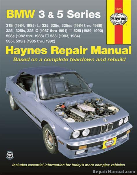 haynes bmw   series   auto repair manual