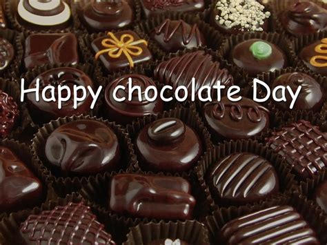 cocoa day happy chocolate day chocolates for you