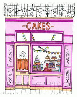 Paris Bedroom Decor wow super love this cake shop drawing cakeshop