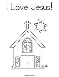 coloring pages i love jesus download
