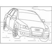 Ausmalbilder Zum Ausdrucken Gratis Malvorlagen Audi 2