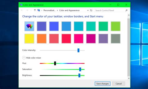 window colors how to get colored window title bars on windows 10