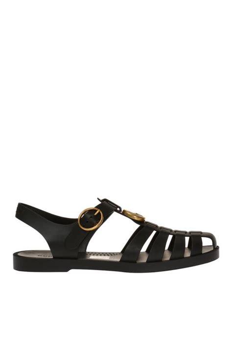 gucci rubber sandals metal logo rubber sandals gucci vitkac shop