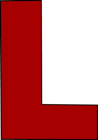 L In The by Letter L Clip Letter L Image