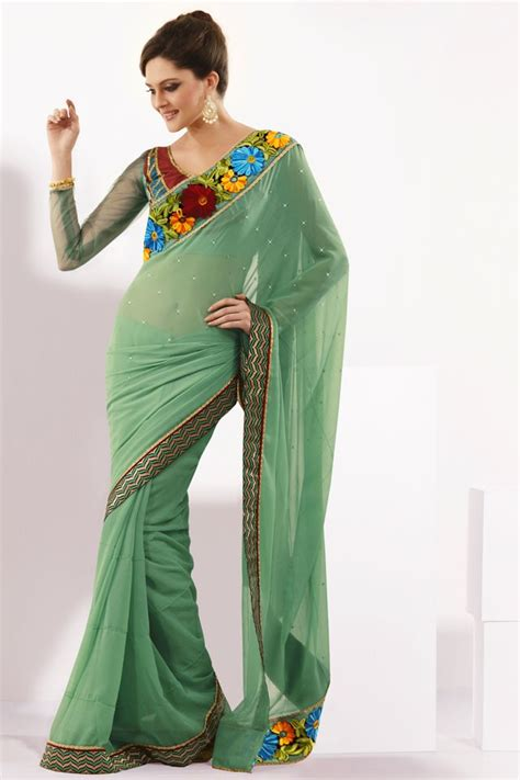 pista color pista green color saree