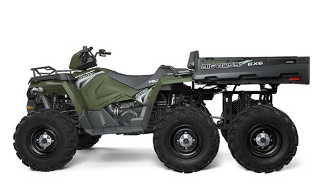 polaris atv polaris introduces new sportsman 6x6 big boss 570 eps