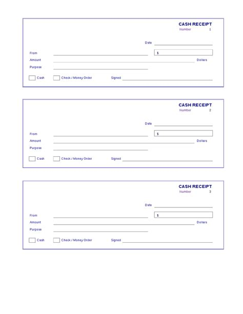 money receipt template receipt template hashdoc