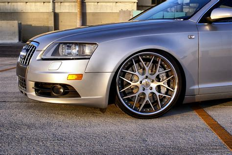 audi a6 quattro w forza frz 950 forged wheels on featured
