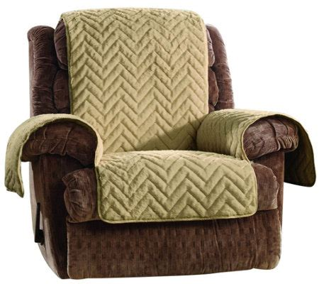 faux leather recliner covers sure fit sheared faux fur recliner furniture cover