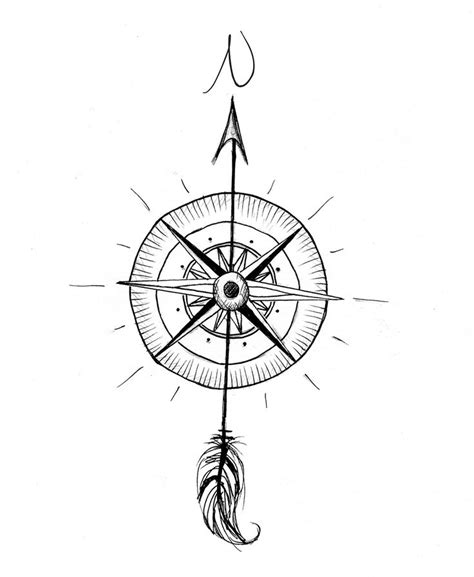 simple compass tattoo design compass tattoo design photo 4 pinned by your wife for