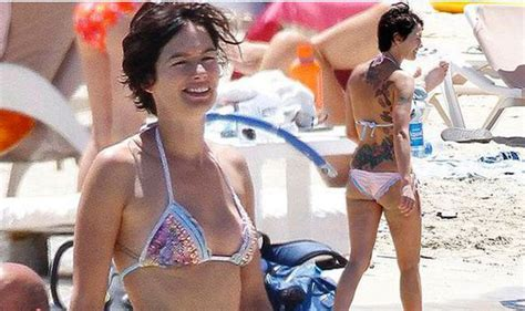 Peter Dunham by Game Of Thrones Star Lena Headey Shows Off Huge Back