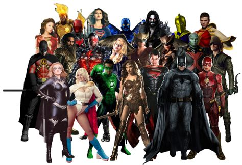 Dc Justice League 2017 dc justice league transparent background by gasa979 on deviantart